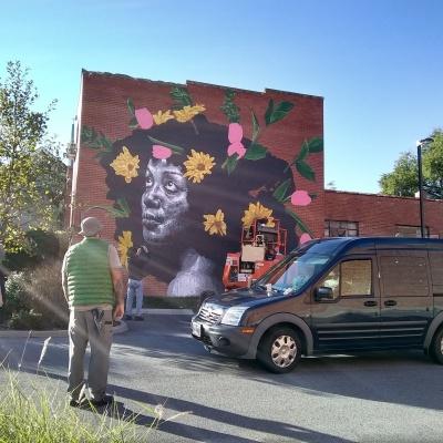 Mural by Nils Westergard